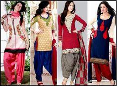 Punjabi Suit & Jutti.