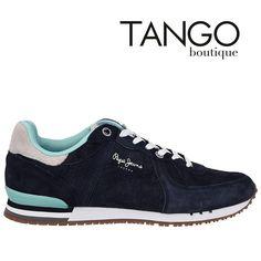 Κωδικός Προϊόντος: PMS30214 Χρώμα Μπλε με γαλαζοπράσινες λεπτομέρειες Εξωτερική Επένδυση Δέρμα  Μάθετε την τιμή & τα διαθέσιμα νούμερα πατώντας εδώ -> http://www.tangoboutique.gr/.../sneaker-pepe-jeans-51502708  Δωρεάν αποστολή - αλλαγή & Αντικαταβολή!! Τηλ. παραγγελίες 2161005000