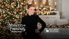 2019 Miracles of Christmas Preview - Full Special - Hallmark Movies & Mysteries - YouTube 25 Days Of Christmas, Christmas Wishes, Christmas Specials, Candace Cameron Bure, Full Show, Abc Family, Hallmark Movies, Special Guest, Mystery