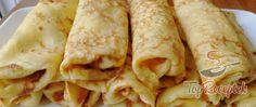 Quark pancakes without flour Top-Rezepte.de - Preparation of the quark pancake recipe without flour, step 3 - Recipe Without Flour, Low Carb Desserts, Dessert Recipes, Low Carb Crepe, Gluten Free Recipes, Vegan Recipes, Quark Recipes, Pizza Recipes, Cake Preparation