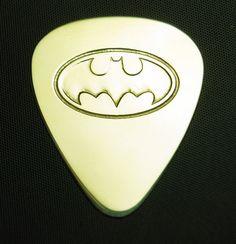 Batman-brass-guitar-pick.