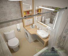 Дизайн ванной комнаты. Ванная