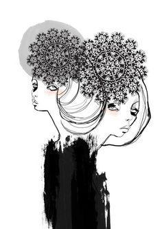 Fashion illustration - stylish fashion drawing // Tracy Turnbull
