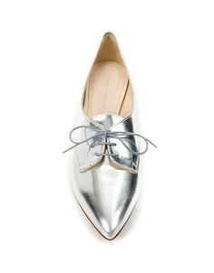 silver oxfords! my new 1s look a bit like this