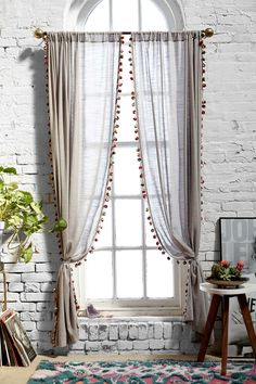 Magical Thinking Pompom Curtain | Urban Outfitters #UOonCampus #UOContest