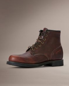 Arkansas Mid Lace - Men_Boots_Work - The Frye Company