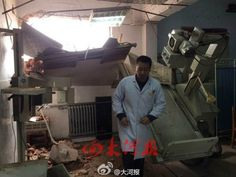 China hospital encounters forced demolition; doctors patients still inside #RagnarokConnection