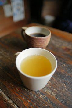 Citron tea and coffee 柚子茶とコーヒー