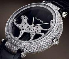 Cartier diamond watch