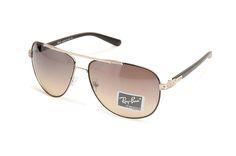Ray Ban Aviator Classic RB8307 Brown Black Sunglasses BLB