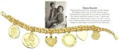 """Jackie's Charm Bracelet: """"Labora non sumptus est."""" = """"Labor is no cost."""""""