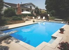 Geometric Pools Designs a few things about pools styles and shapes The Perfect Spot For A Backyard Pool Party This Design Features A Great Patio