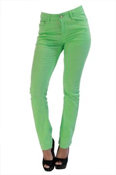 Details about Ladies Ripped Knee Sexy Skinny Jeans Womens High ...
