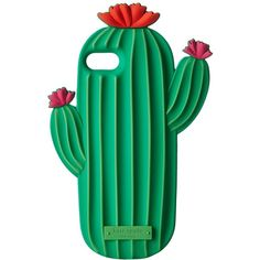 Kate Spade New York Silicone Cactus Phone Case for iPhone 7 (Multi)... ($65) ❤ liked on Polyvore featuring accessories, tech accessories, cases, iphone smartphone and kate spade
