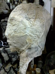 Fabric Phrenology head profile