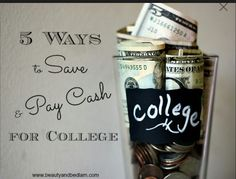 I want to pay for my kids college education