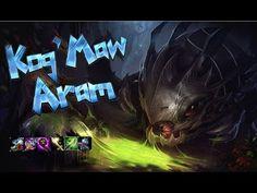 Kog'Maw ARAM - Ultimate Bravery League Of Legends, Videos, League Legends