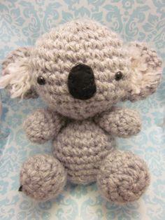 SALE Kawaii Amigurumi Koala by SpudsStitches on Etsy, $20.00