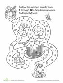 Preschool Math: All About the Number 3 | Worksheet | Education.com
