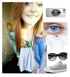 """Every Person's Smile Has A Story"" by hey-hey25 ❤ liked on Polyvore featuring Topshop, Converse, Vince Camuto and Lipsy"