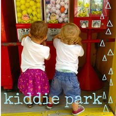 Kickin' it in San Antonio: Kiddie Park. What to do in San Antonio with kids!