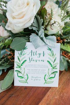 rustic summer canyon wedding invites