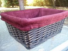 How to make liners for ANY basket, very clear directions!
