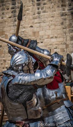 This is that full-contact medieval fighting sport. Forgot what it's called, but it's amazing.