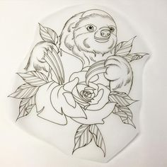 Sloth clinging onto his rose....doing this soon hopefully, got a similar one available I'll post soon Walkerxz@hotmail.com