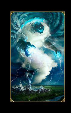 air elemental storm