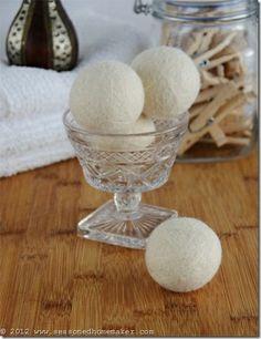 Felted Wool Dryer Balls