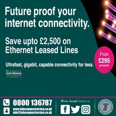 Why does your business need a leased line? a leased line network offers your business many benefits that you may not be aware of. Lead Lines, Leeds, Pos, Budgeting, Connection, Advice, Internet, Technology, Business