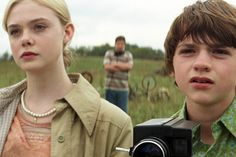 Super 8 - Elle Fanning and Joel Courtney    I could watch this movie again and again!