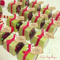 #christmas #handmade #gift #chocolates