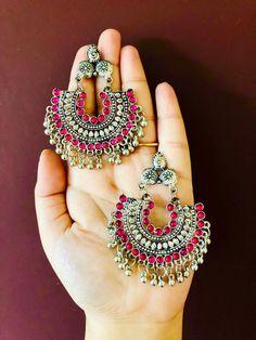 Get more Whatsapp @ 8250141633 Indian Jewelry Earrings, Jewelry Design Earrings, Silver Jewellery Indian, Fashion Earrings, Fashion Jewelry, Silver Jewelry, Designer Earrings, 925 Silver, Silver Ring