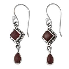Silver Crystal Rhinestone Teardrop Wrap Clip Earrings with Pear Shaped Crystal Rhinestone ** Check out this great product.