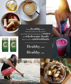 Images by sporteluxe, my wholesome kitchen, motivation wall and c coconut w Healthy Mind, Healthy Foods To Eat, Easy Healthy Recipes, How To Stay Healthy, Healthy Snacks, Healthy Eating, Healthy Recepies, Healthy Hair, 21 Day Fix