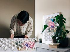 Giant Origami tutorial for Design Sponge   Emma Gutteridge // Brighton Photographer. Sussex Photographer. Food   Portrait   Product   Lifestyle   Editorial   Travel