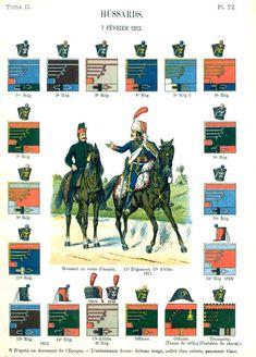 Гусары. 1812 Uniformes de I'Armee Francaise 1690-1894 Lienhart & Humbert