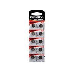 Camelion 59804 Pack de 10 Piles Alkaline pour Montre LR44 1,5 V 125 mAh