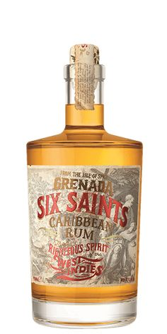 Six Saints Caribbean Dark Rum at Flaviar