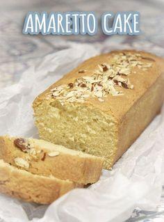 Amaretto cake - delicious airy cake with Amaretto and almonds - Recepten - Bread Cake, Pie Cake, No Bake Cake, Köstliche Desserts, Delicious Desserts, Dessert Recipes, Food Cakes, Cupcake Cakes, Amaretto Cake