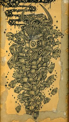 TREE OF KNOWLEDGE by Base23, via Flickr