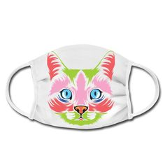 Geschenke Shop   Cat Color 006 - Gesichtsmaske Shirt Diy, Gifts For Cats, Facial Masks, Ideas