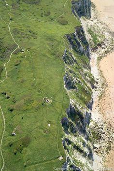 Photo aérienne de Escalles - Pas-de-Calais (62)
