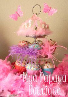 Fancy Nancy Cupcake tree