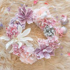 Garlands, Floral Wreath, Romantic, Wreaths, Christmas, Home Decor, Xmas, Floral Crown, Decoration Home