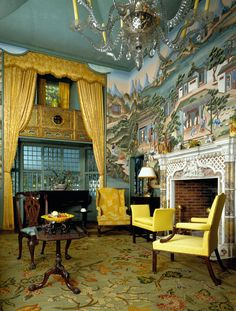 """The home of America's first male decorator Henry Davis Sleeper (also called """"Beauport"""")"""