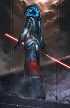 Star Wars, Twi'lek Sith. RIORIN for tara willow by *totmoartsstudio2 on deviantART