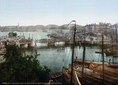 De Koningsbrug, waar tegenwoordig de kubuswoningen staan: